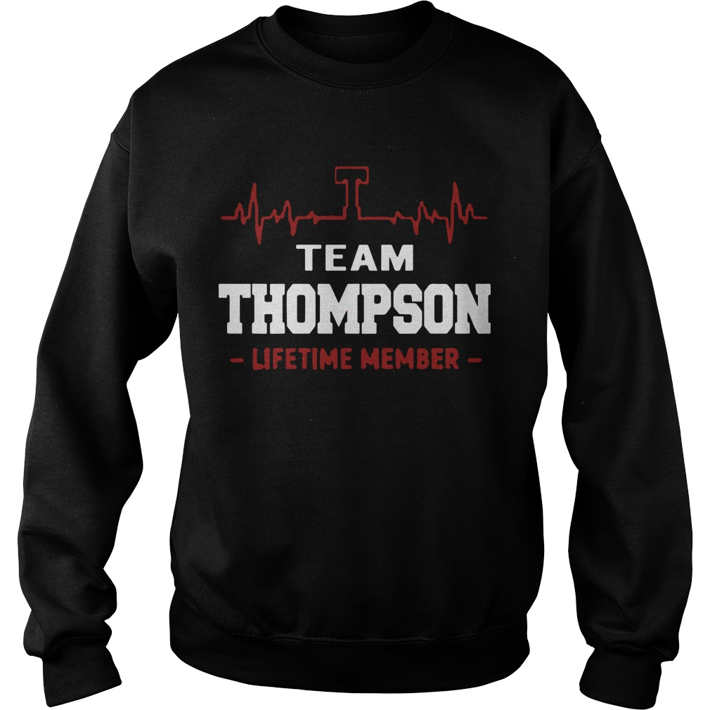 Team Thompson Lifetime Member Sweater