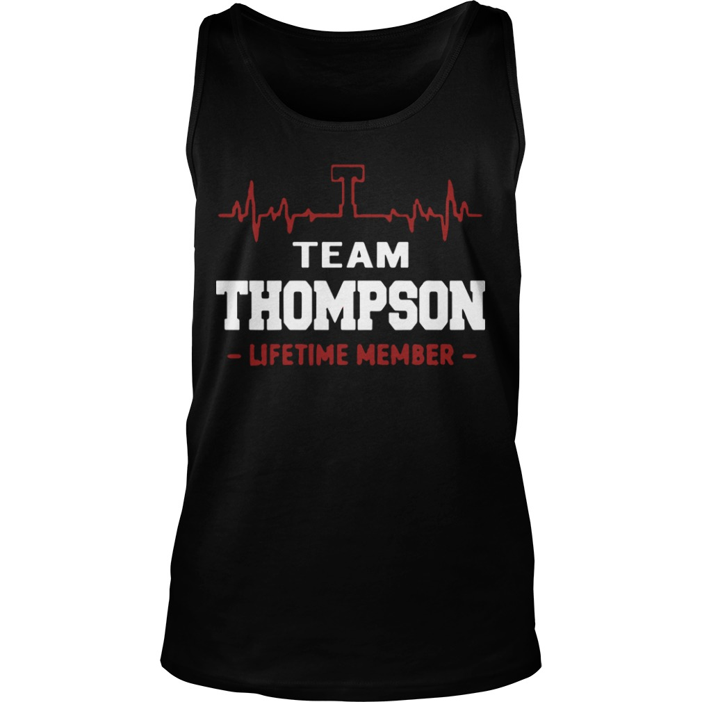 Team Thompson Lifetime Member Tank Top