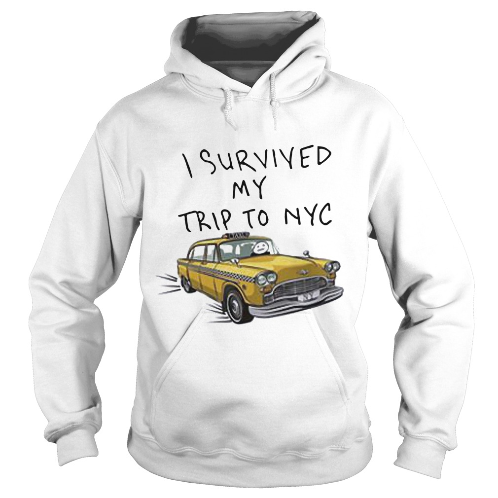 Tom Holland Spider Man I Survived My Trip To NYC Taxi Hoodie