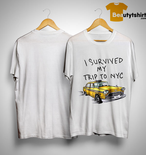 Tom Holland Spider Man I Survived My Trip To NYC Taxi Shirt