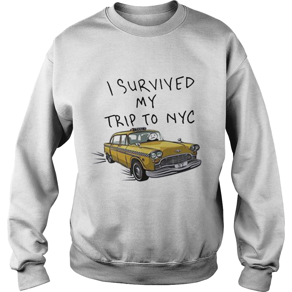 Tom Holland Spider Man I Survived My Trip To NYC Taxi Sweater