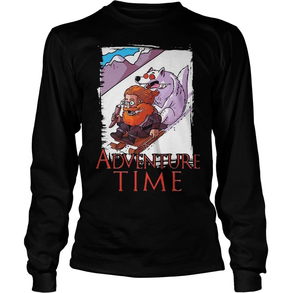 Tormund Giantsbane Adventure Time Longsleeve Tee