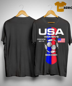 Usa Women's France 2019 Soccer Shirt