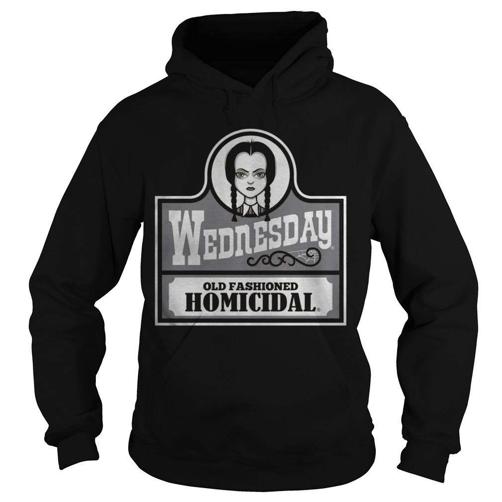 Wednesday Old Fashioned Homicidal Hoodie