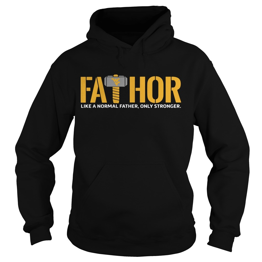 Wonder Women Logo Fathor Like A Normal Father Only Stronger Hoodie