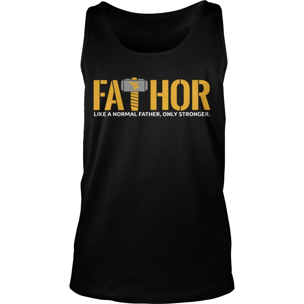 Wonder Women Logo Fathor Like A Normal Father Only Stronger Tank Top