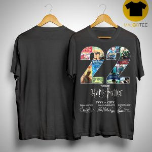 22 Years Of Harry Potter 1997 2019 Shirt
