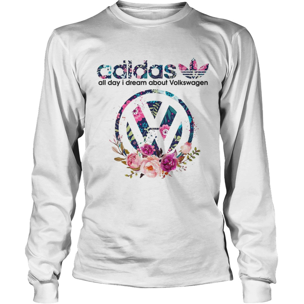 Adidas All Day I Dream About Volkswagen Longsleeve Tee