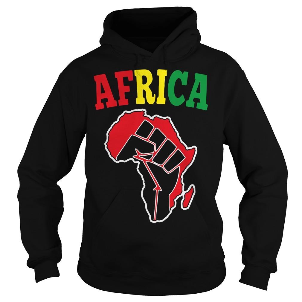Africa Black Power Hoodie