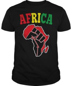 Africa Black Power Shirt