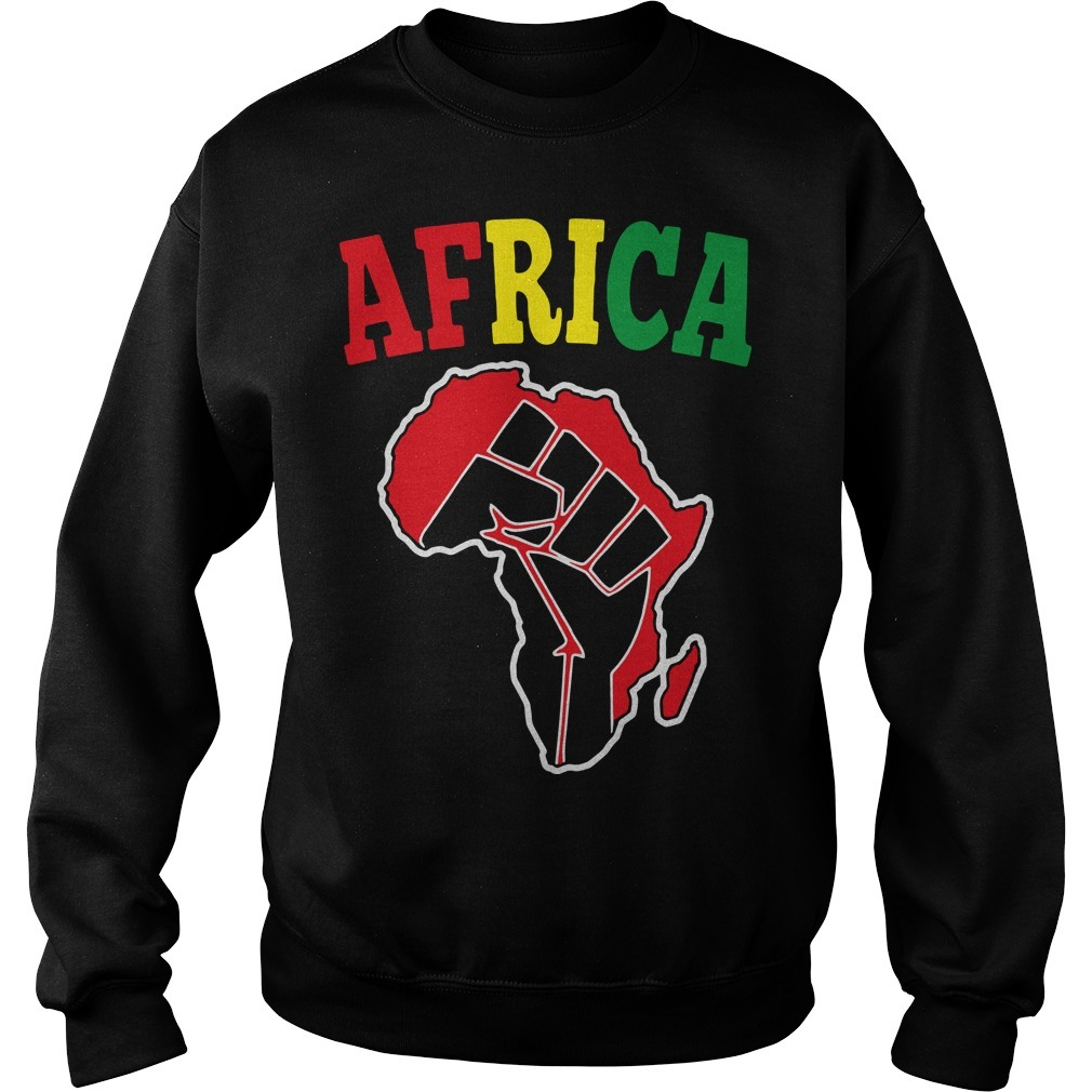 Africa Black Power Sweater