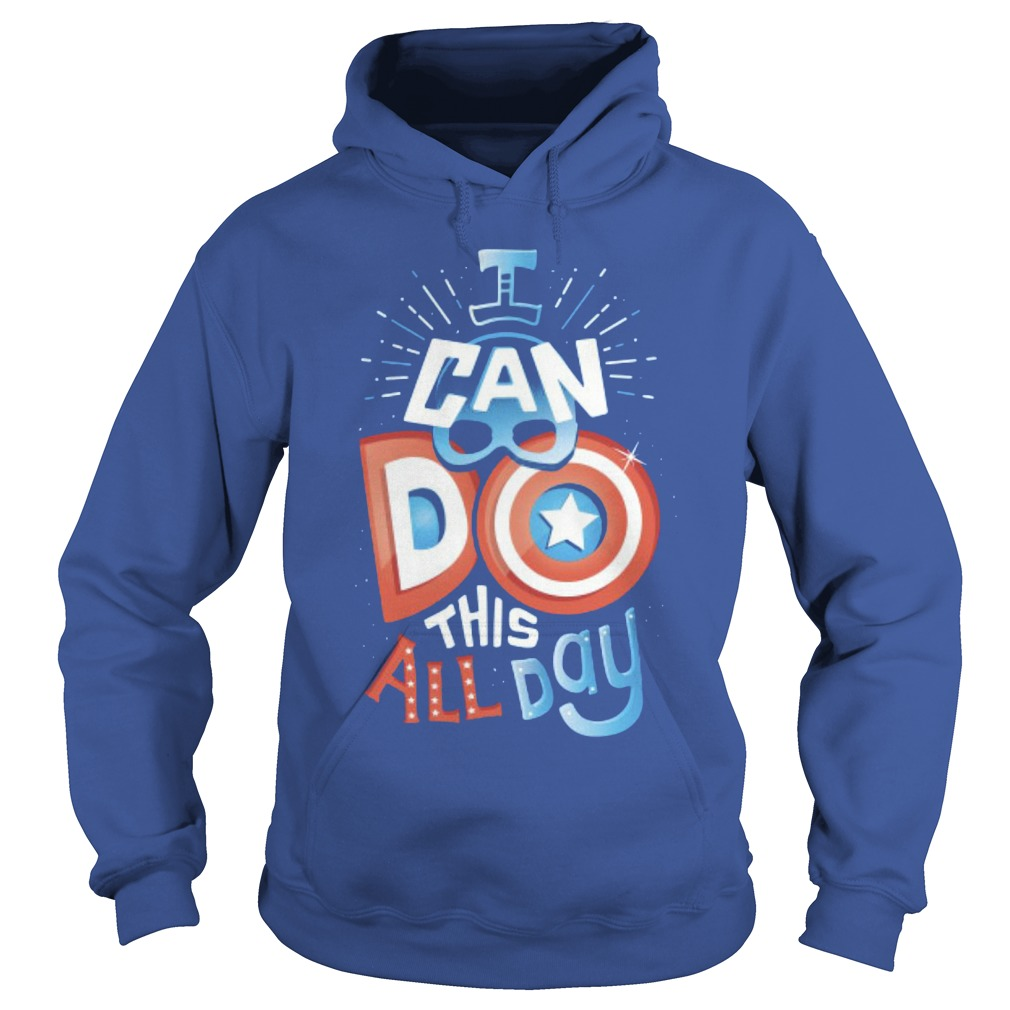America Captain I Can Do This All Day Hoodie