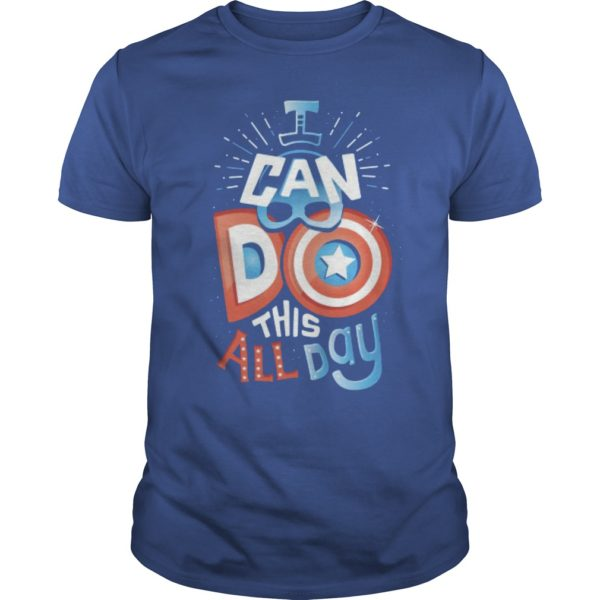 America Captain I Can Do This All Day Shirt