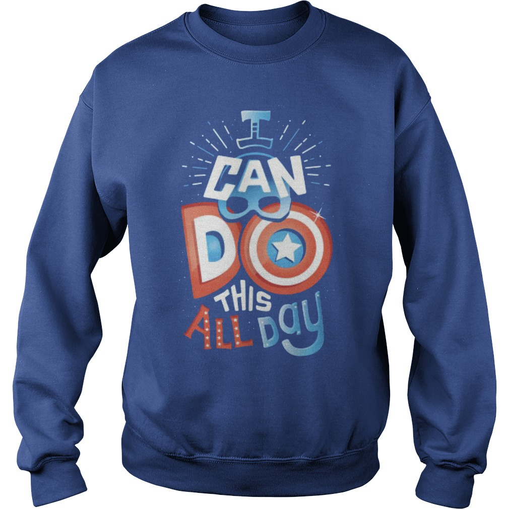 America Captain I Can Do This All Day Sweater
