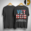 American Flag Vet Bob Like Dad Bod But With More Knee Pain Shirt