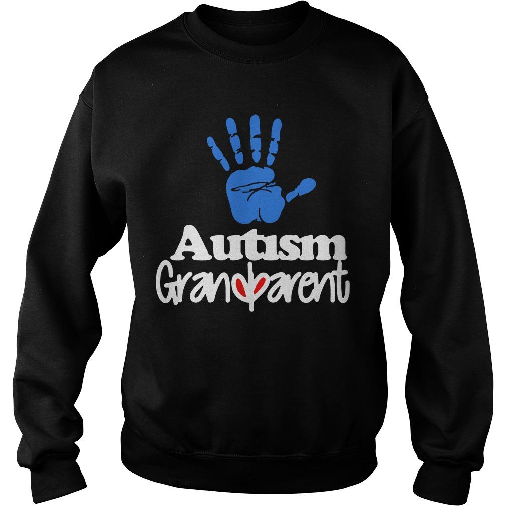 Autism Grandparent Sweater