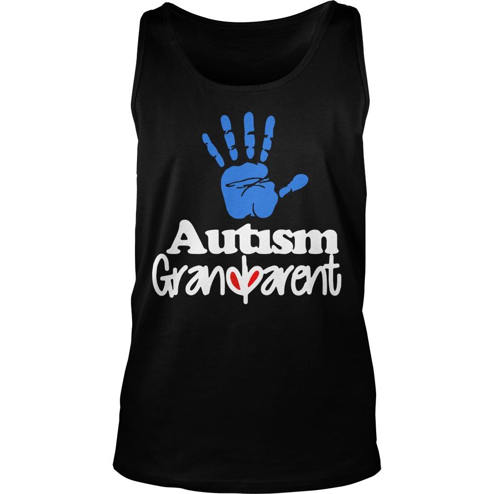 Autism Grandparent Tank Top