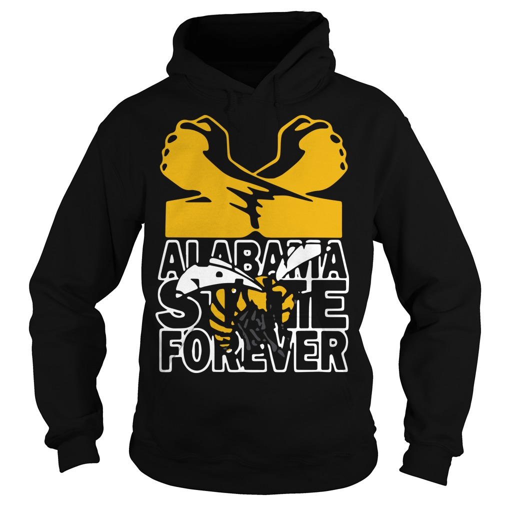 Bee Alabama State Forever Hoodie