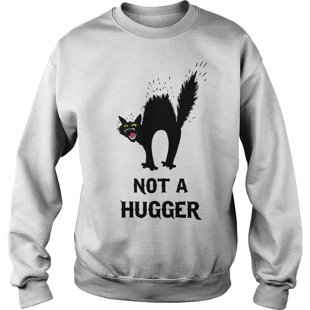 Black Cat Not A Hugger Sweater