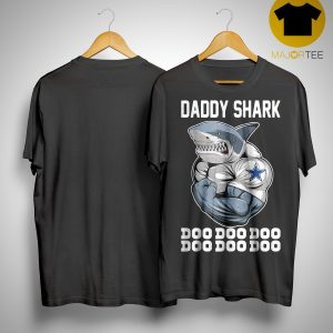 Body Building Dallas Cowboy Daddy Shark Doo Doo Doo Shirt