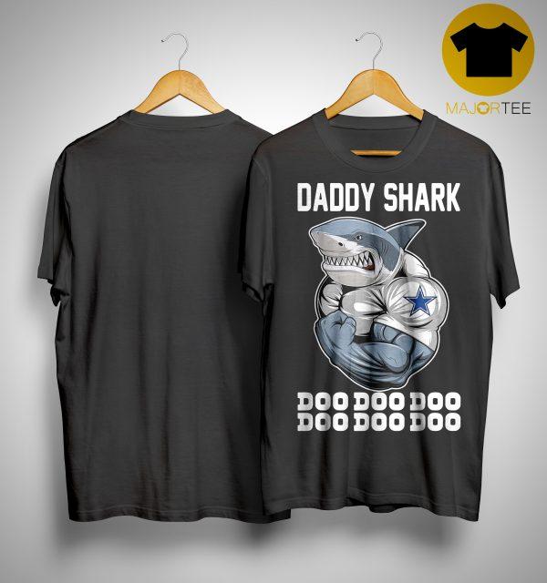 Body Building Dallas Cowboy Daddy Shark Doo Doo Doo Shirt