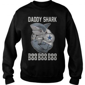 Body Building Dallas Cowboy Daddy Shark Doo Doo Doo Sweater