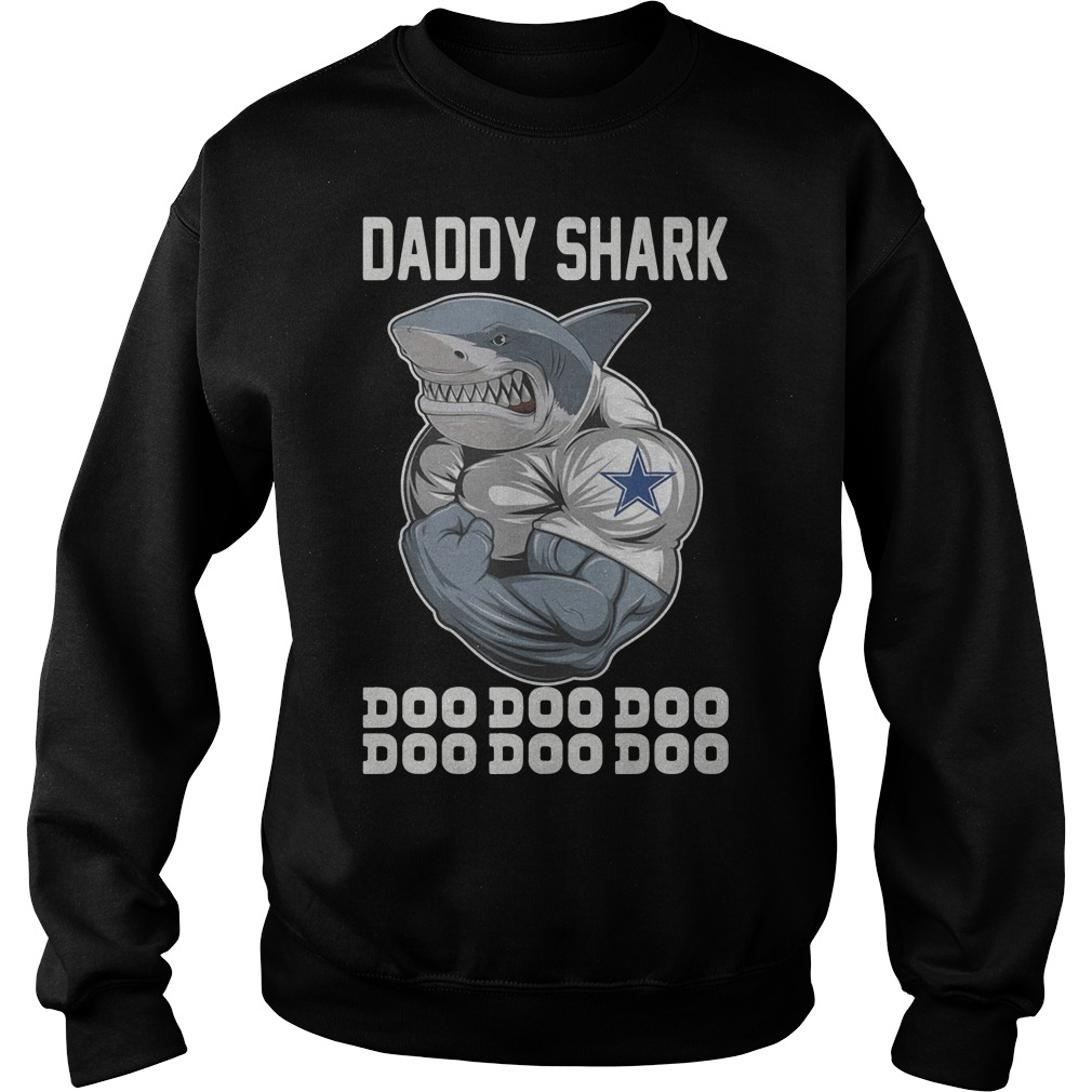 Body Building Dallas Cowboy Daddy Shark Doo Doo Doo Sweater
