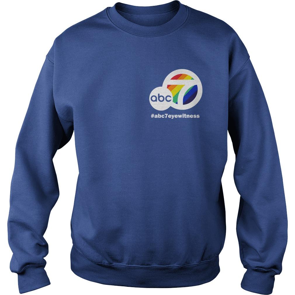 Brandi Hitt #abc7eyewitness Sweater