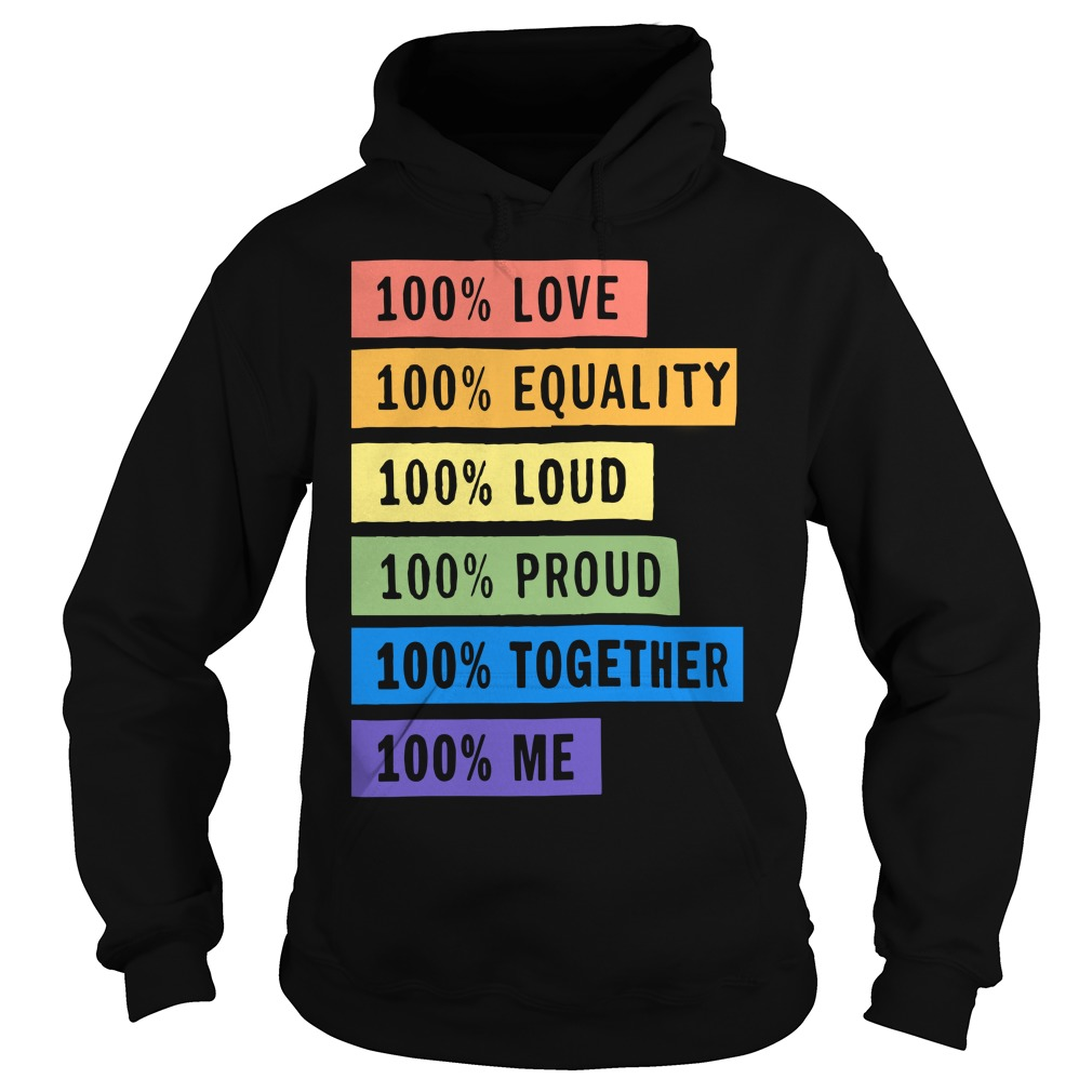 Brendon Urie's 100% Pride Hoodie