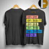 Brendon Urie's 100% Pride Shirt