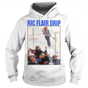 Brett Hull Ric Flair Drip Hoodie