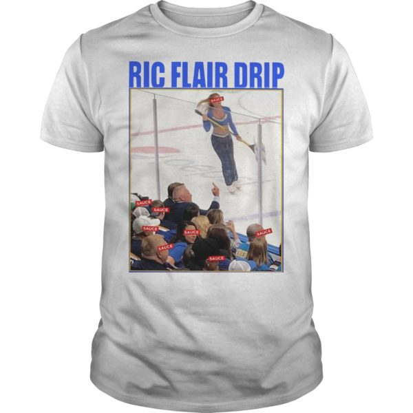 Brett Hull Ric Flair Drip Shirt