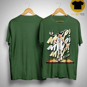 Bucks 2019 Giannis Mvp Shirt