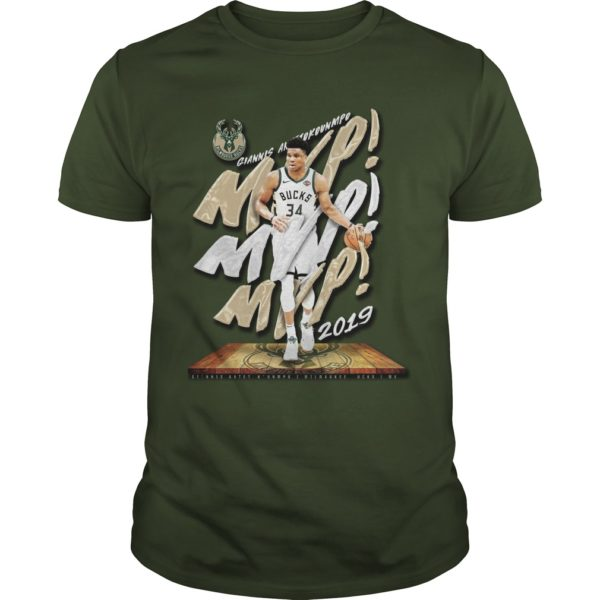 Bucks 2019 Giannis Mvp Shirt