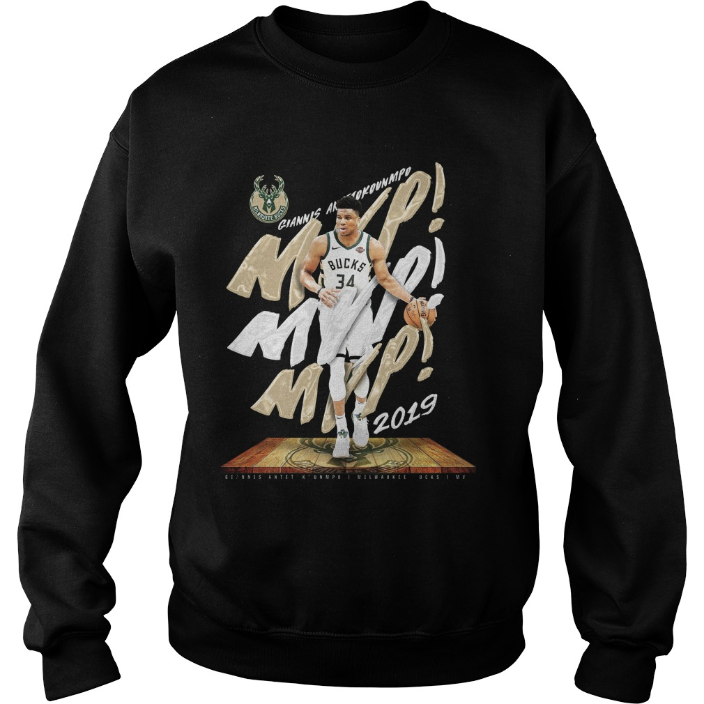 Bucks 2019 Giannis Mvp Sweater