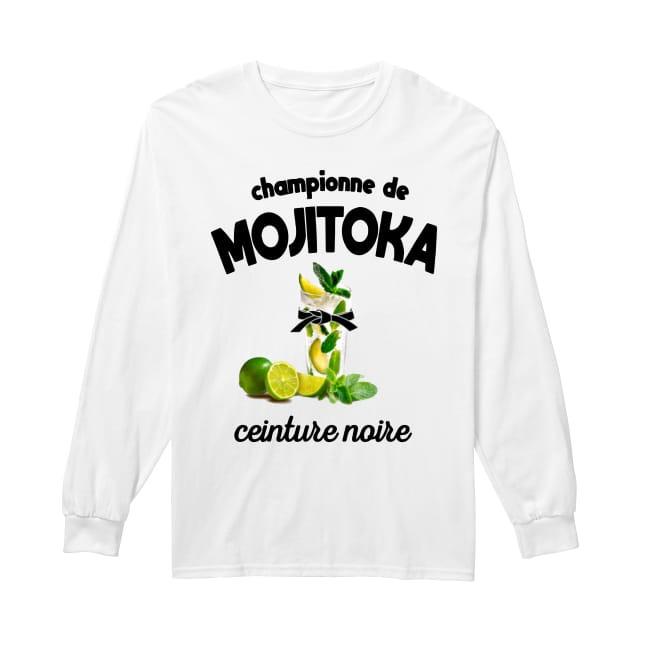 Championne De Mojitoka Ceinture Noire LOng Sleeve Tee