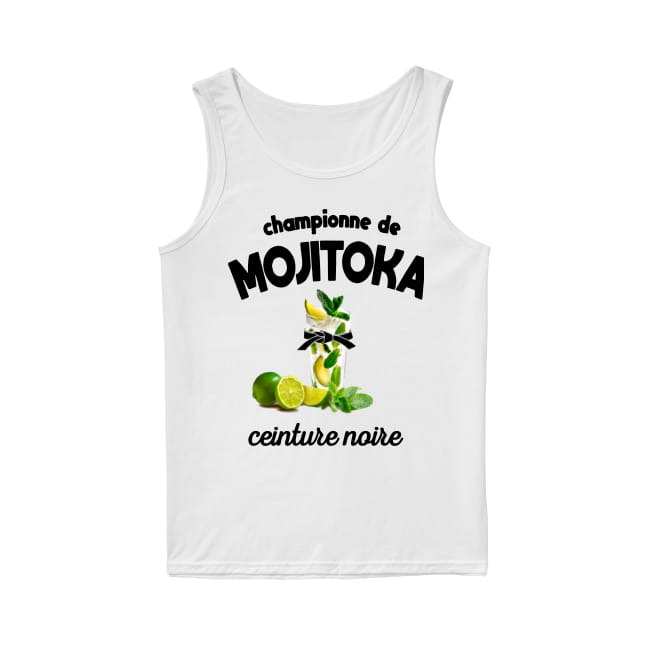 Championne De Mojitoka Ceinture Noire Tank Top