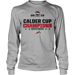 Charlotte Checkers 2019 Calder Cup Champions Longsleeve Tee