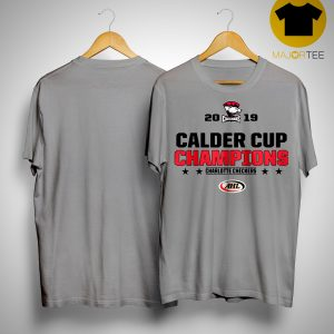 Charlotte Checkers 2019 Calder Cup Champions Shirt