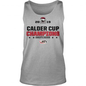 Charlotte Checkers 2019 Calder Cup Champions Tank Top