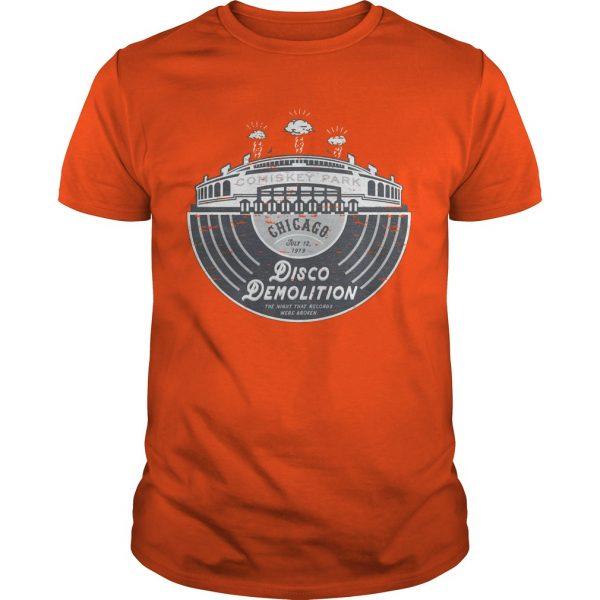 Chicago White Sox Disco Demolition Shirt