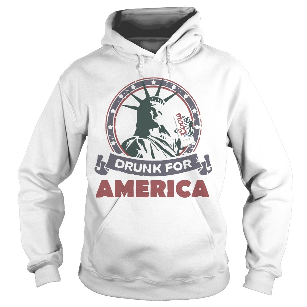 Coors Light Drunk For America Hoodie