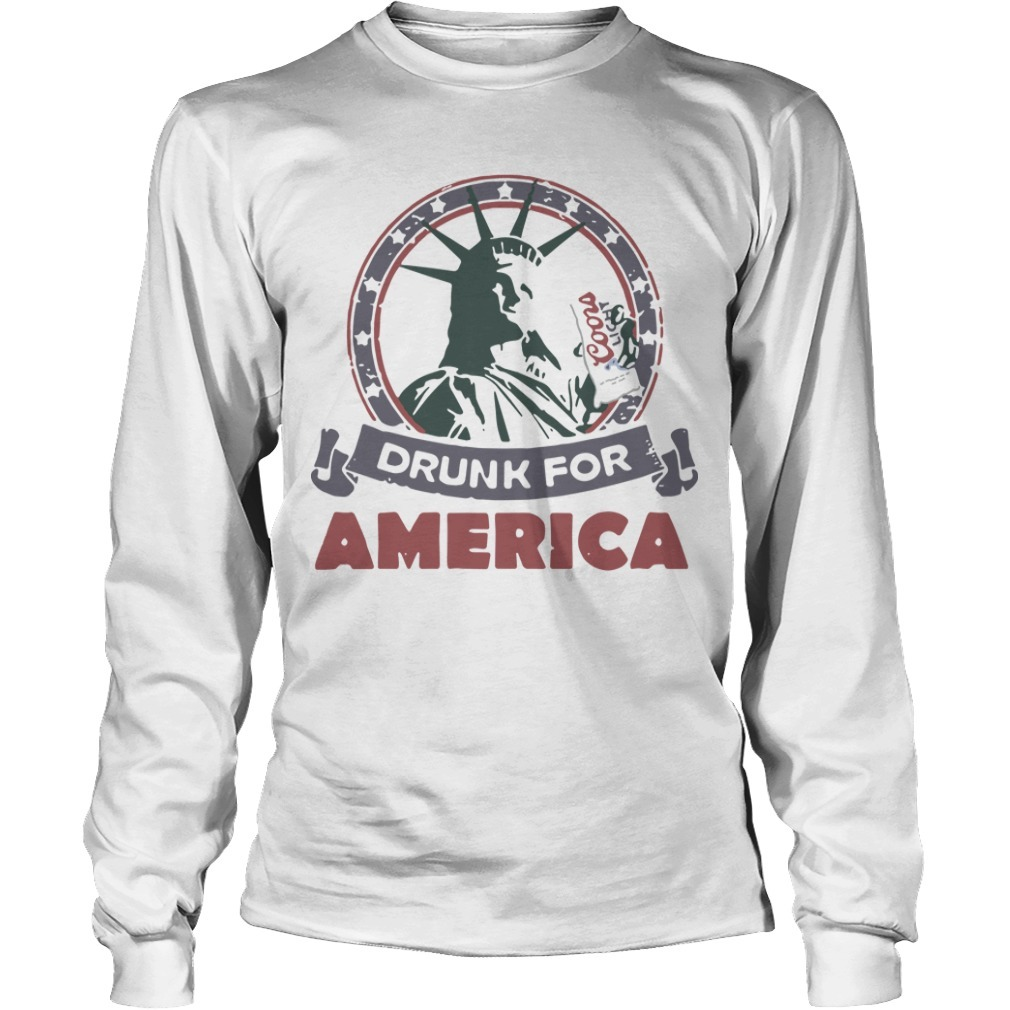 Coors Light Drunk For America Long Sleeve Tee