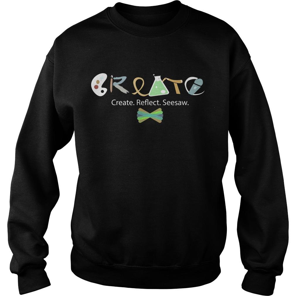 Create Create Reflect Seesaw Sweater