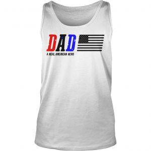 Dad A Real American Hero Tank Top