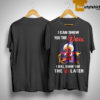 Deadpool Aladdin I Can Show You The Worl I Will Show You The D Later Shirt