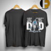 Detroit Lions Dad A Son's First Hero A Daughter's First Love Shirt
