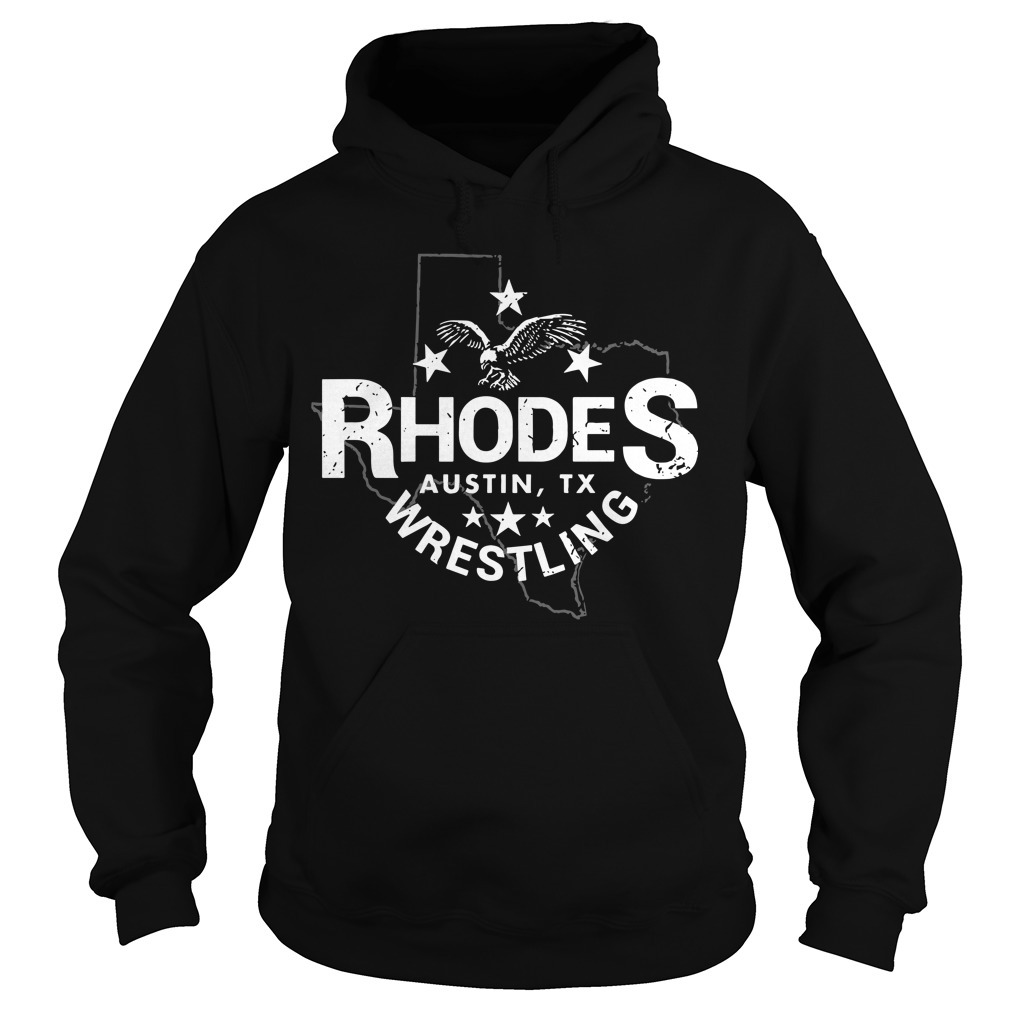 Dustin Rhodes Austin Tx Wrestling Hoodie