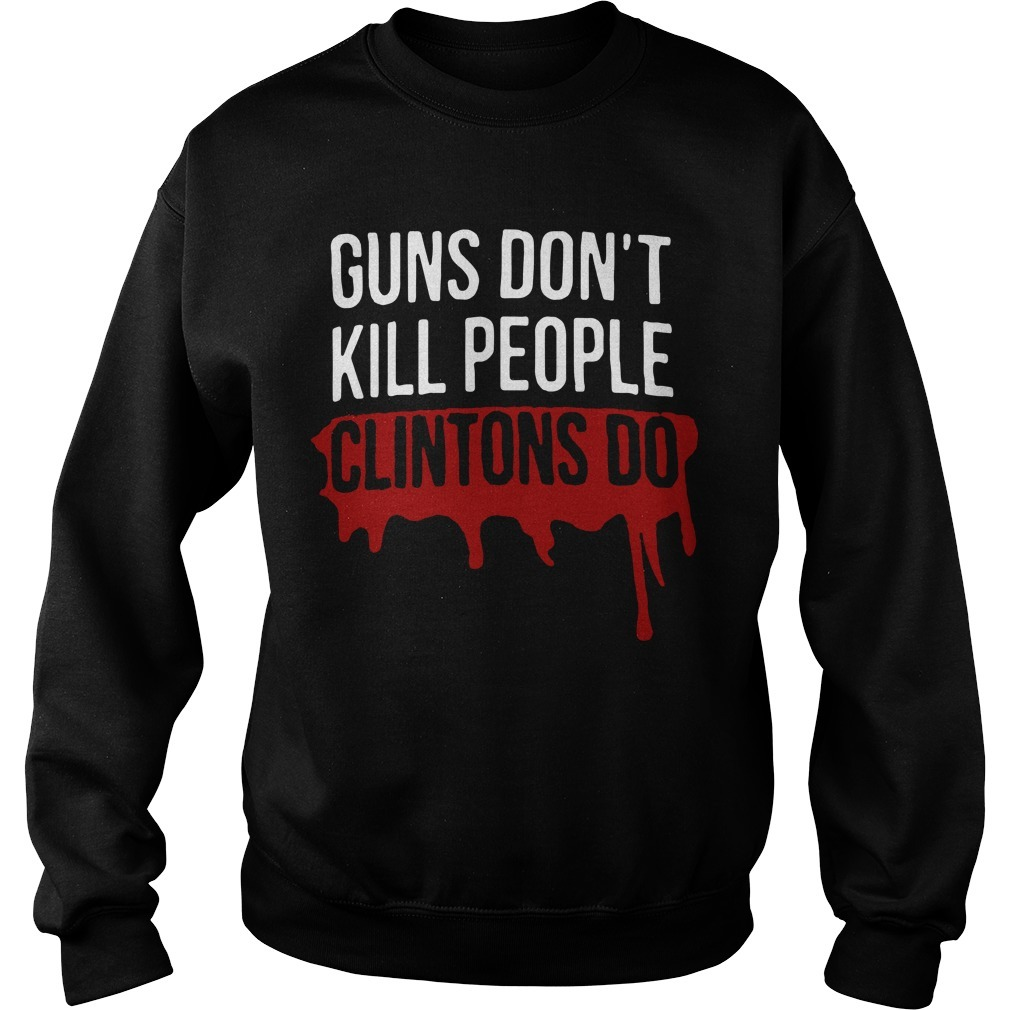 Dwayne Johnson Guns Don't Kill People Clintons Do Sweater