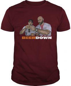 Eddie Miller Lite Beer Down Shirt